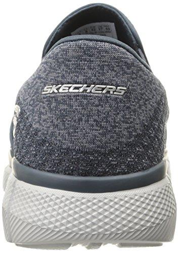 Skechers Equalizer 2.0, Baskets Basses Homme Bleu (Nvgy)