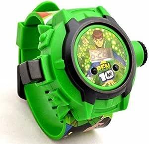 Homeshopeez Digital Black Dial Kids Watch (BEN 10 Design)