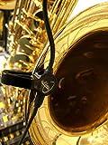 """SOPRANONISSIMO SAXOPHONE PICKUP,""""THE FEATHER"""" CON EL NECK FLEXIBLE DE MICRO-GOOSE DE Myers Pickups ~ ¡Véalo en ACCIÓN! Copie y pegue: myerspickups.com, pastilla de saxofón sopranonissimo"""