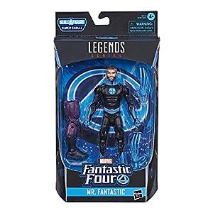 "Marvel-Hasbro Legends Series Four 6"" Figura de acción Coleccionable Mr. Fantástico E8114"