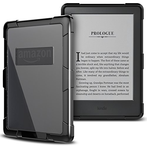 yokata-case-for-kindle-paperwhite-ultra-slim-transparent-clear-pc-hard-back-panel-with-soft-silicone