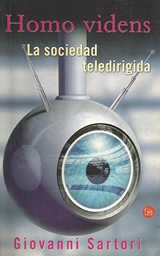 Homo Videns La Sociedad Teledirigida Pdl Pdf Online