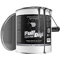 FullDip FLD4L29 Vinilo Líquido, Negro Metalizado, 4 litros
