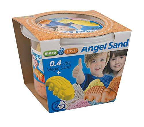 maro-toys 65213 – Angel Sand – einzeln, Bau- und Konstruktionsspielzeug, 0.4 l, orange
