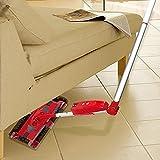 Broom Robot de balayage sans fil chargeur à la main chargeur aspirateur accueil automatique Électrique , red, non curved handle