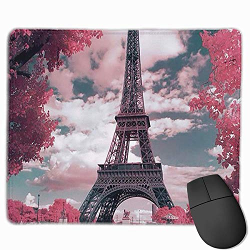 Deglogse Gaming-Mauspad-Matte, Smooth Mouse Pad Paris Eiffel Tower Mobile Gaming Mousepad Work Mouse Pad Office Pad (Paris Tower-dekor Eiffel)