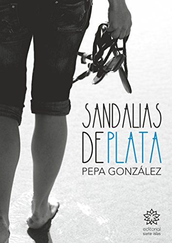 Sandalias de plata de [Díaz, Pepa González]