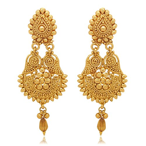 Youbella Gold Plated Earrings For Women