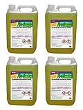Best Pet Kennels - 4 x 5 Litre Pet Kennel Disinfectant Lemon Review