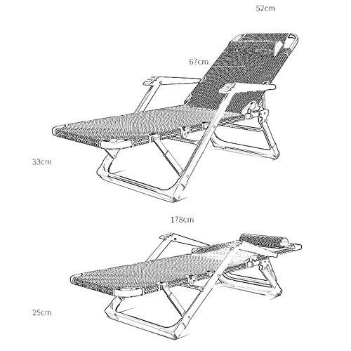 SXYULQQZ Faltbare tragbare büro faul Stuhl Liege 15 datei Einstellung flachrohr mit armlehnen kristall samt dicken pad Lounge Stuhl Hause Stuhl, 3 Farben / - / (Farbe: schwarz)