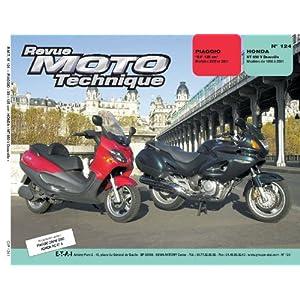 Rmt 124.1 Piaggio X9 / Honda Nt 650 V Deauville