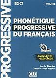 Phonetique progressive 2e edition: Livre avance + CD MP3 (B2/C1) (Progressive du français)