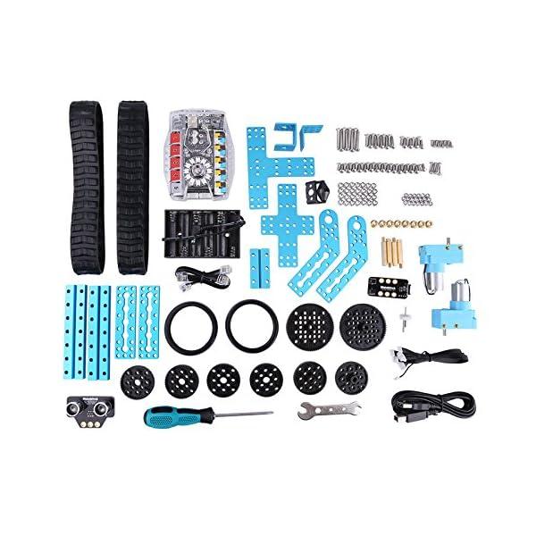 51aTsV16hbL. SS600  - Makeblock Ranger - 3 en 1 Robótica Transformable STEM Robot Kit Educativo, Aprender Coding con Un Montón de Divertido