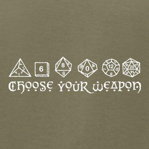 Choose your Weapon (D&D Dice) - Herren T-Shirt - 13 Farben Khaki