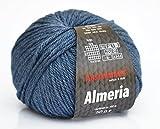 Austermann Wolle Almeria Fb. 18 – jeans, Merinowolle mit Seide und Alpaca superfein