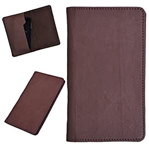 DCR Pu Leather case cover for XOLO Q610s (brown)