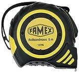 Famex 12705 Rollbandmaß mit Stopper, 5 m