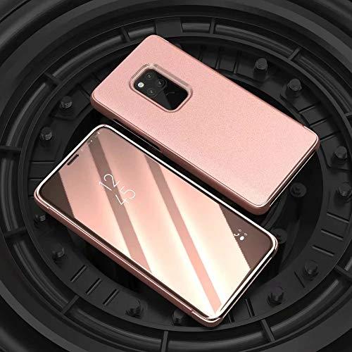 Momoxi Phone Accessory Huawei Handyhülle Handy-Zubehör Spiegelüberzug Sleep Wake Flip Ledertasche für Huawei Mate 20 6,58 Zoll lite hülle