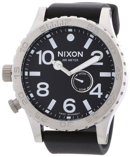 nixon-a058000-00-montre-homme-quartz-analogique-bracelet-plastique-noir