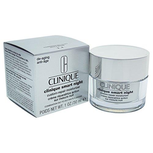 Clinique Smart Night Custom Reparieren Feuchtigkeitscreme Kombination zu fettiger Haut 30ml