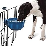 DJLOOKK Ciotola Cane Ciotola riscaldata per Cani Ciotola per Acqua riscaldata per Cani riscaldata all'aperto per Cani