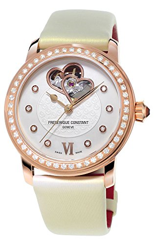 Frederique Constant World Heart Federation Rose Gold Plated Womens Watch FC-310WHF2PD4