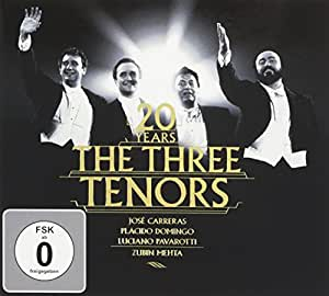 Drei Tenöre 20 Jahre Jubiläums-Edition (Ltd.Ed.) (CD+DVD)