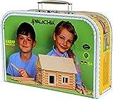 Walachia 8594036430358 - Vario Koffer Holzbausteine Set, 72 Teile