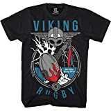 T-Shirt Hardcore Training Viking Rugby-m MMA BJJ Fitness Grappling Camiseta