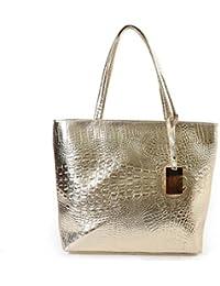 bf87cb998cb68 Helle solide Lackleder Frauen Taschen Handtaschen Damen einfach lässig  Schulter Messenger Bags Sac A Main… EUR 39