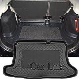 Car Lux AR04401 - Alfombra Cubeta Protector cubre maletero a medida con antideslizante para Fusion