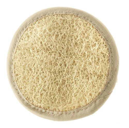 Almohadilla Loofah limpieza exfoliación facial- doble