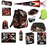 Schulranzen Set Star Wars 21-tlg. Federmappe, Sporttasche, Schultüte 85cm...