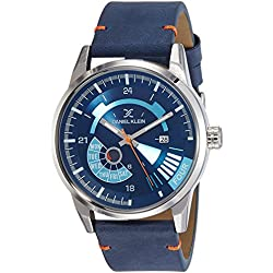 Daniel Klein Analog Blue Dial Men's Watch-DK11298-6