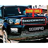 Dossvick New Scorpio Front Grill 2018 Model with Chrome Letters