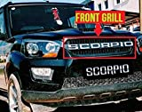 #8: Dossvick New Scorpio Front Grill for Models 2015-2018 with Chrome Letters