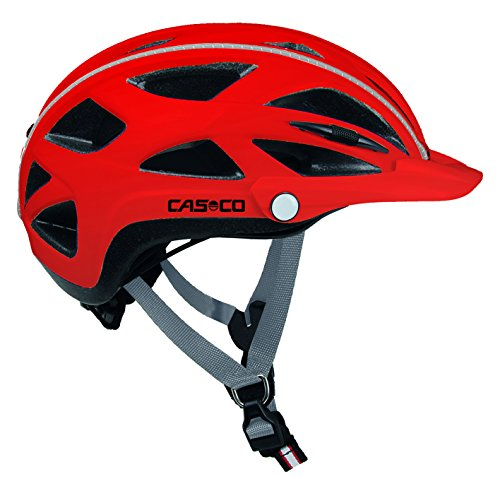 Casco Erwachsene Helm Active TC, Rot, 52-58 cm, 15.04.0815.M