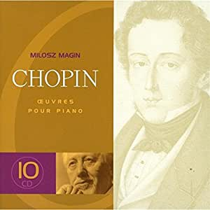 Chopin : Oeuvres pour piano (Coffret 10CD)