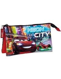 Disney estuche para lápices con cierre para niñas niños mujer neceser (9674301 Cars)