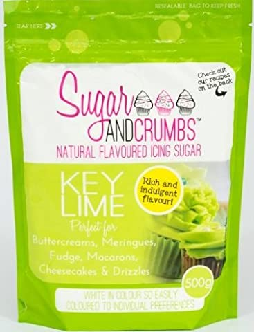 Key Lime Natural Flavoured Icing Sugar for Cakes and Bakes