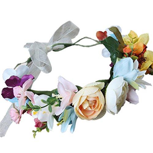 Cinta de flores para boda