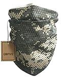 QMFIVE Sciarpa tattica a camuffamento, uomini e donne Uomo e donna multifunzione a forma di arricciamento a forma di capo (ACU)