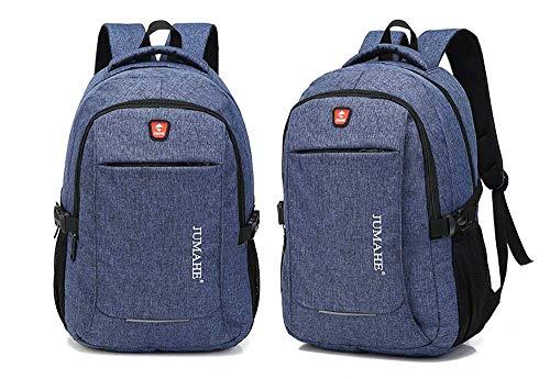 Bao Sac à dos pour ordinateur portable de voyage, sac à dos en plein air pour affaires, multifonctionnel, résistant au sac à dos imperméable pour école, convient à un ordinateur portable de 15,6 pouc
