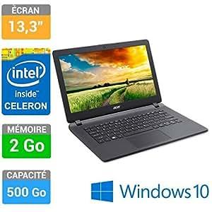 Acer pc portable 13,3 aspire es1-311-c2m5