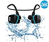 Swimming MP3 Player Underwater Waterproof to 3 Meters - Wireless 4GB MP3 Player