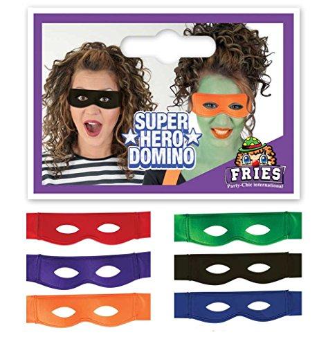 Maske, in verschiedenen Farben (Super Helden Maske)