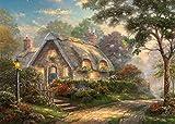 Gibsons Thomas Kinkade Lovelight Cottage Jigsaw Puzzle, 1000 piece