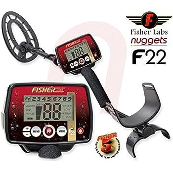 Detecteur de metaux Fisher F22
