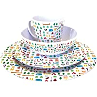 Olpro Âberrow hill 16 piece melamine multicolor