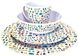 Olpro  berrow Hill 16 Piece Melamine Multicolor